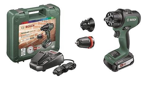 Bosch - Atornillador Combinado a Batería AdvancedImpact 18 (1 Batería, Sistema de 18 V, en Estuche)