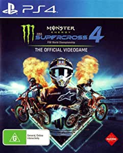 Monster Energy Supercross 4 The Official Videogame - PlayStation 4