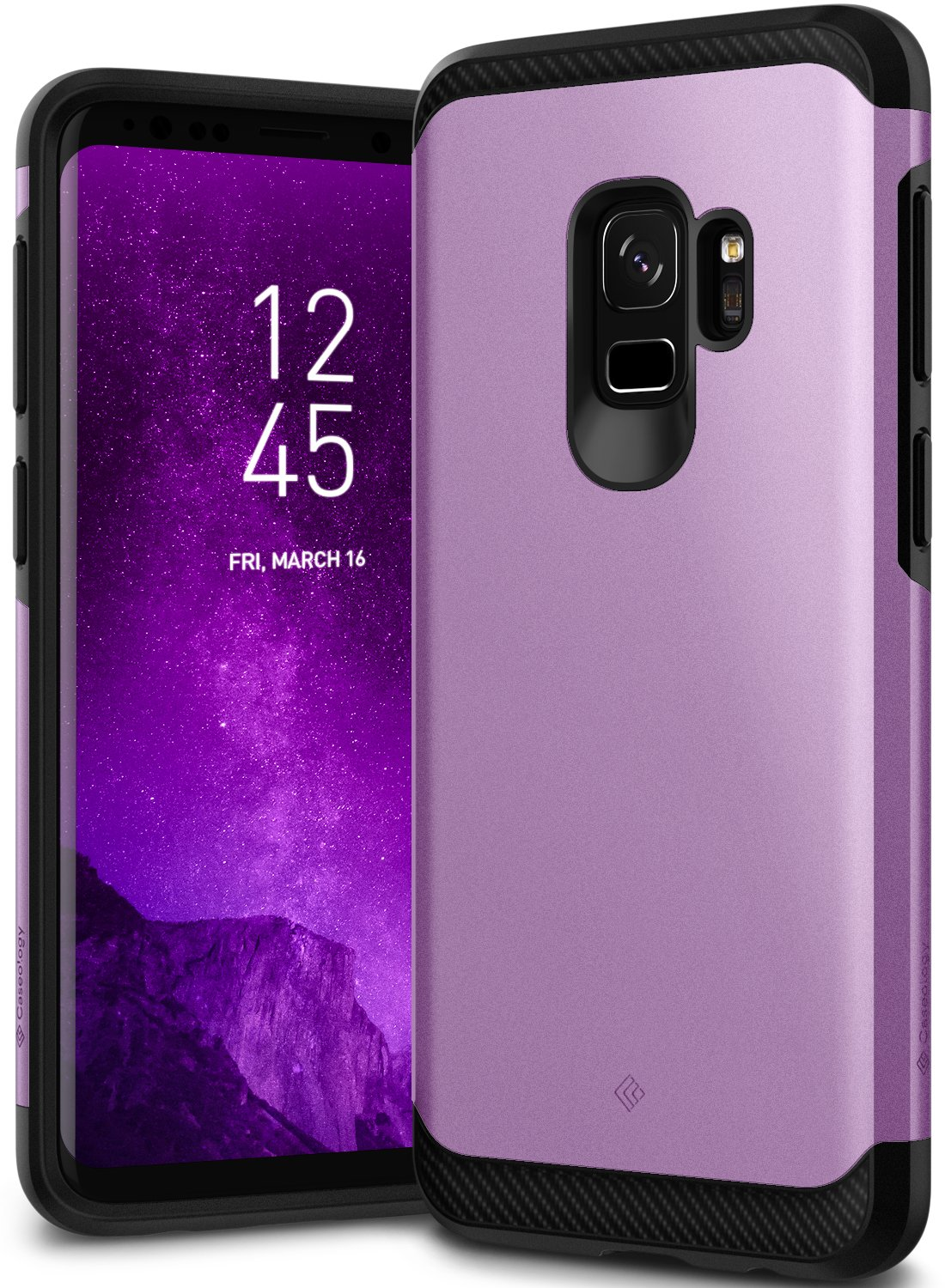 Caseology [Legion Series] Galaxy S9 Case - [Reinforced Protection] - Black CO-GS9-LGN-BK