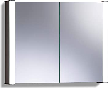 Neue Design Led Illuminated Bathroom Mirror Cabinet With Wire Free