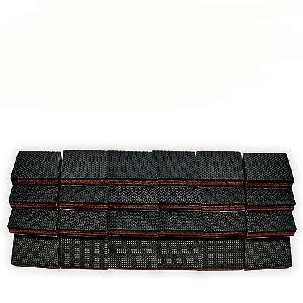 Non Slip Furniture Pads 24 Pcs Square Premium 2 Furniture Feet