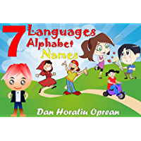Seven Languages: Names Alphabet (Learn Book 1) (English Edition)