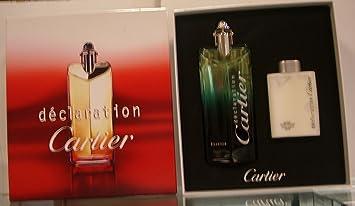 44bffb5848f Amazon.com   Cartier Declaration Gift Set w  Eau De Toilette Essence Spray  100ml   Fragrance Sets   Beauty