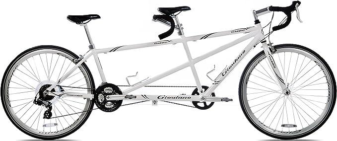 Giordano Viaggio Tandem para Bicicleta de Carretera, White Pearl: Amazon.es: Deportes y aire libre