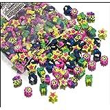 Pack of 500 Mini Eraser Assortment Novelty By Blue Green Novelty