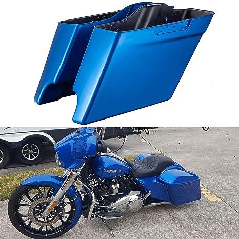 Amazon.com: Bolsas de sillín elásticas para Harley Touring ...