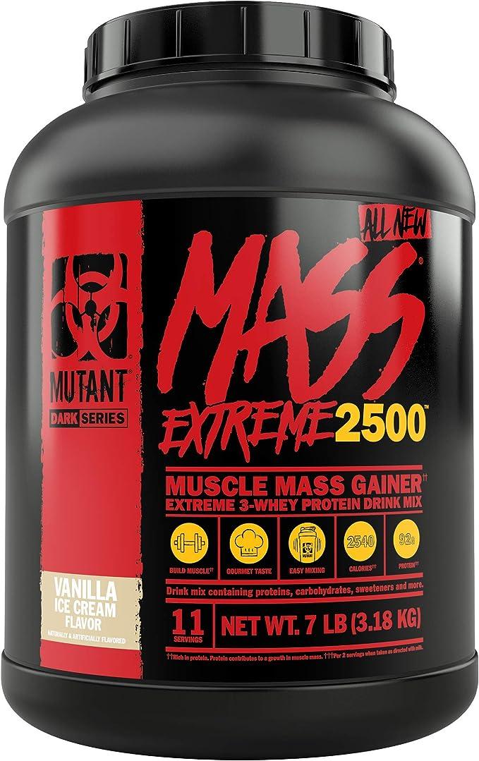 Mutant Mass Xxxtreme 2500 Vanilla Ice Cream - 3178 gr