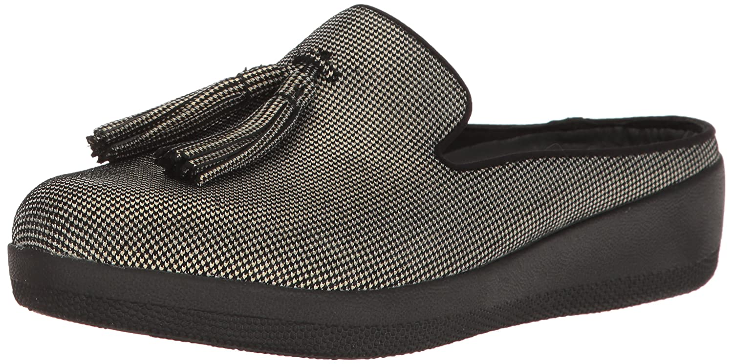86974b09693e Details about FitFlop Women s Houndstooth Print Superskate Slip-On Loafer