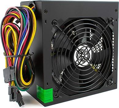 Generador de 500W PSU ATX Fuente de Alimentación Conmutada ...