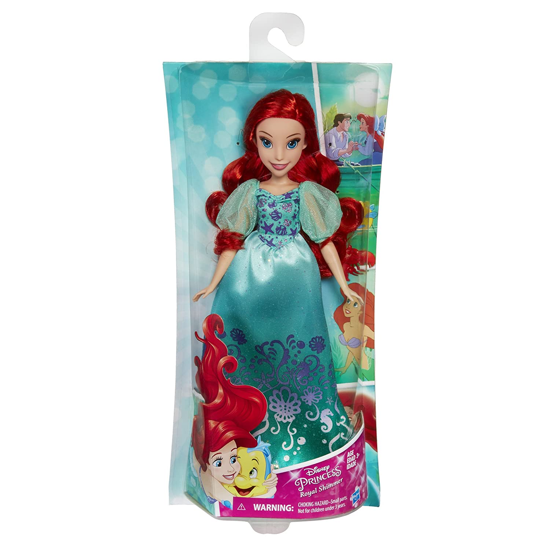 Disney Princess Royal Shimmer Ariel Doll by Princess QeKLyC