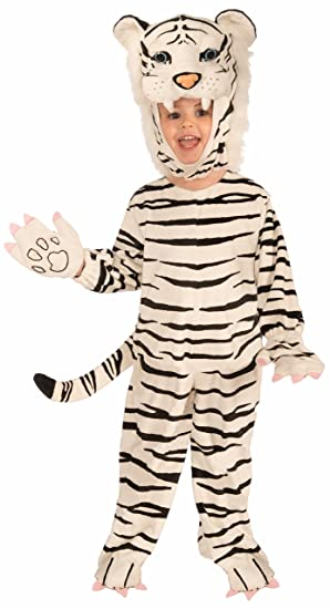 Forum Novelties Plush White Tiger Child Costume Small  sc 1 st  Amazon.com & Amazon.com: Forum Novelties Plush White Tiger Costume for Children ...