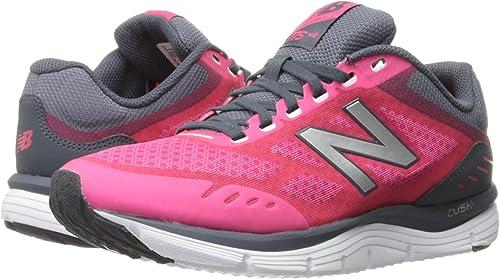 New Balance - W775 para Mujer, Rosado (Granada/Thunder), 8 C/D US: Amazon.es: Zapatos y complementos
