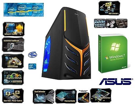 HeidePC® Big Gamer PC - Ivy PC VI - (Intel Core i7-3770K con un multiplicador abierto ...