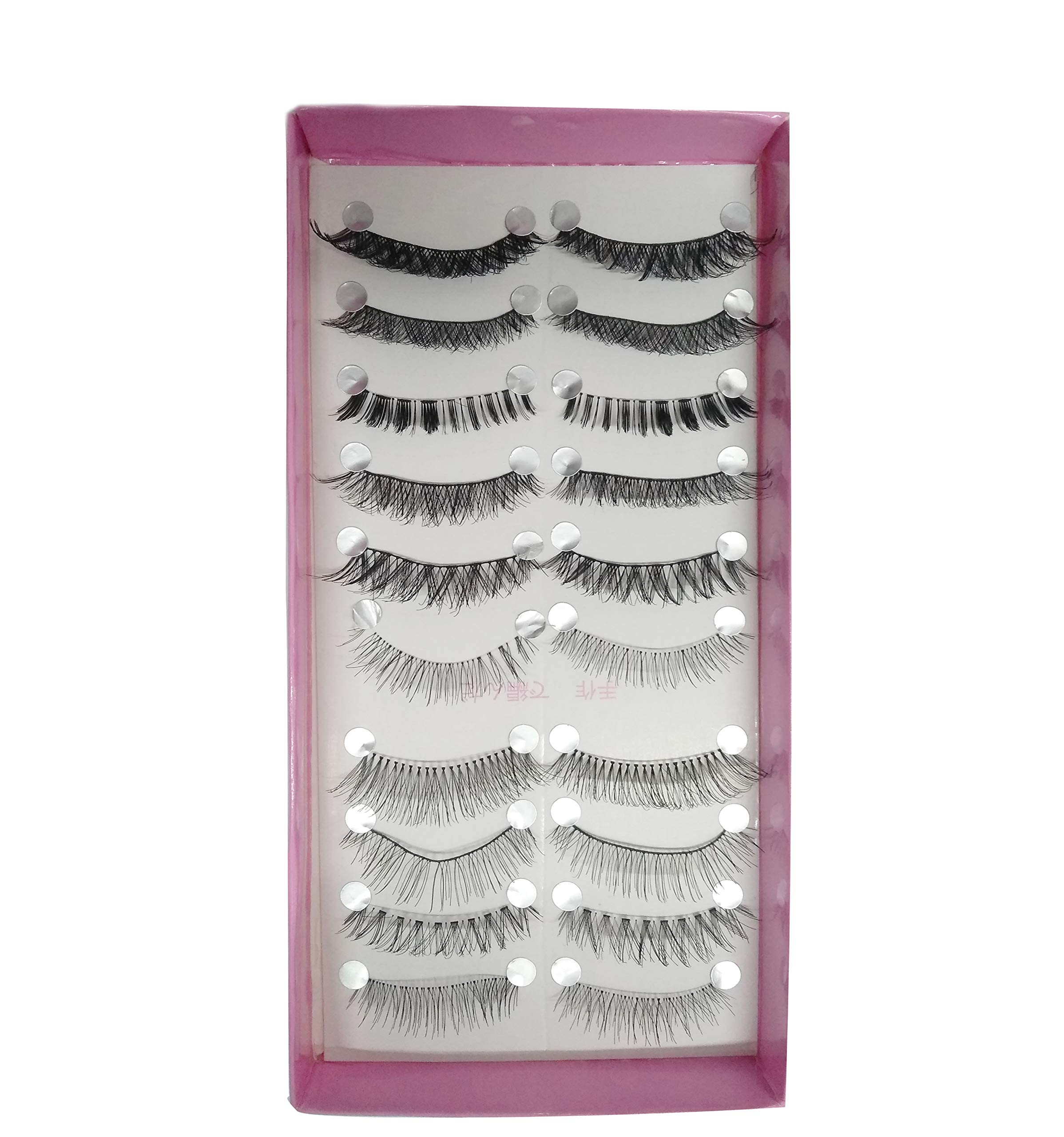9b963beaca4 Electomania Mixed Styles False Eyelashes 10 pairs (Black) product image