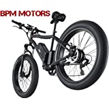 ! Powerful 48 volt Fat Tire 500w 26' Kenda SAMSUNG Battery Mountain Electric E Bike Bicycle