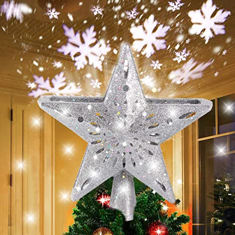 Christmas Angel Blue//Silver with Lantern 11 x 7 cm Ceramic Christmas Decoration