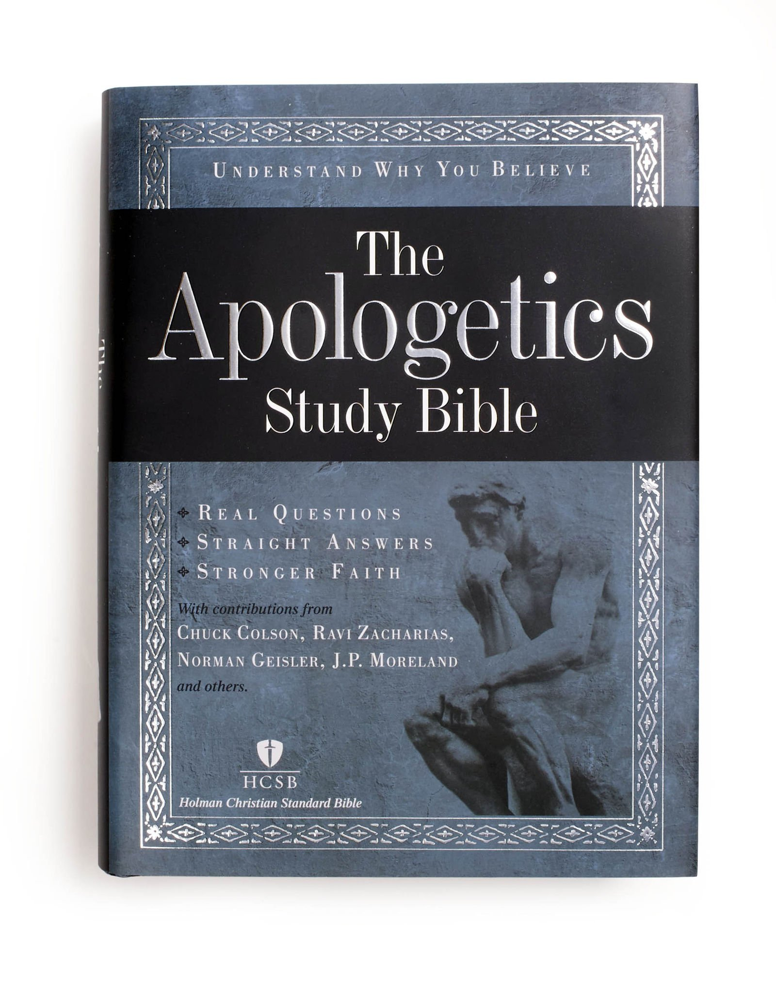 apologetics study bible hardcover holman bible staff rh amazon com Student Study Bible HCSB Study Bible for Women