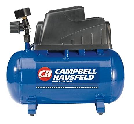 hot dog compressor. campbell hausfeld air compressor, 2-gallon hot dog oilless .36 cfm .33hp compressor