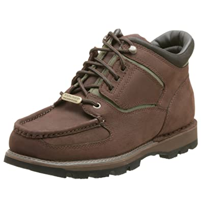 Rockport Men's Umbwe Waterproof Trail Boot,Brown/Green,10.5 M
