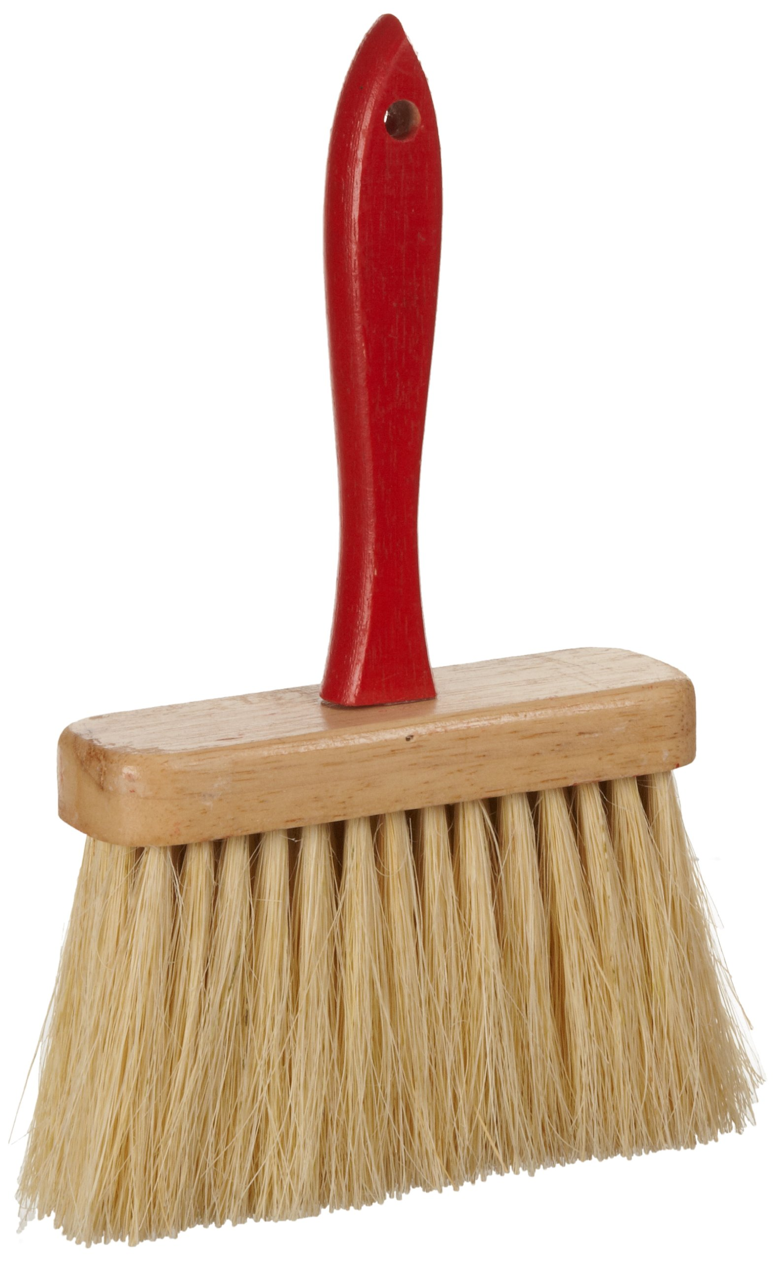 Weiler 44448 Masonry Brush with Handle, 5 Rows, White Tampico Fill,  11-1/2'' Length, 6-1/2'' Block Size