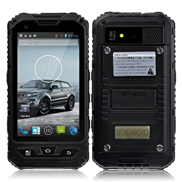 Captivating Sudroid A8 4 Inches IP68 Rugged Smartphones With Android 4.4.2 Os And Quad  Core