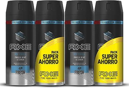 Axe Desodorante Ice Chill Pack Duplo Ahorro - 2 Paquetes de 2 x ...