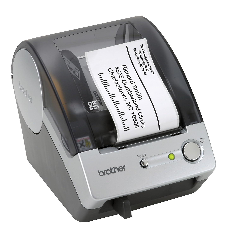 Brother QL-500 label printer - label printers (Blue, DK, Manual