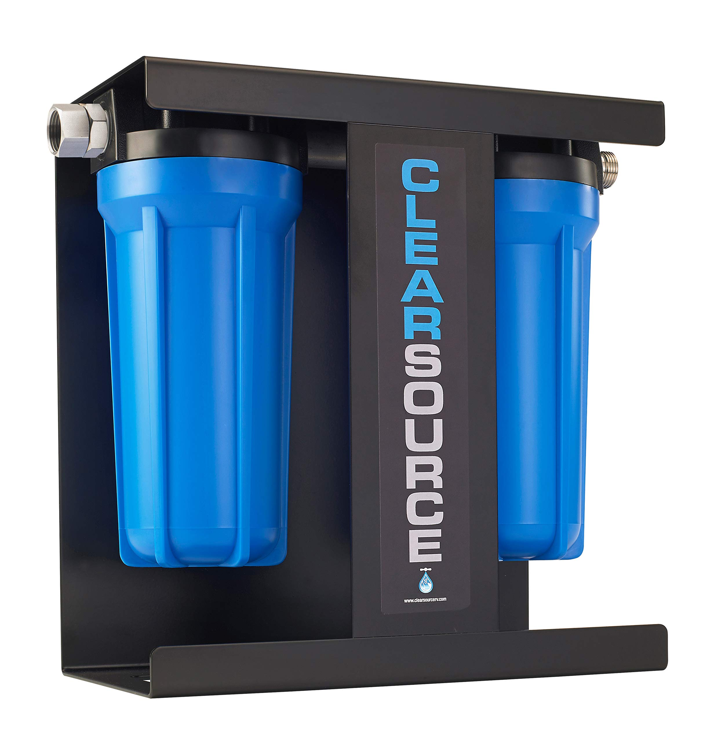 Clearsource Premium RV Water Filter System   Pristine Water. Unparalleled Water Flow. Built-in Stand. by CLEARSOURCE