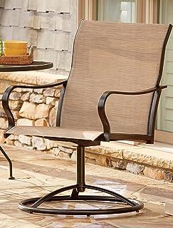 LivingXL Swivel Outdoor Chair (Khaki) & Amazon.com: Needapresent.com Ergolife Chair: Garden u0026 Outdoor
