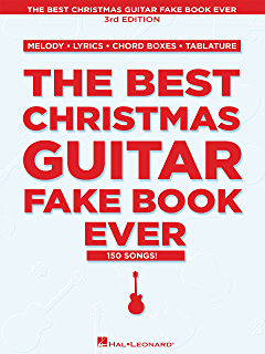 Amazon.com: The Ultimate Guitar Christmas Fake Book: 200 Holiday ...