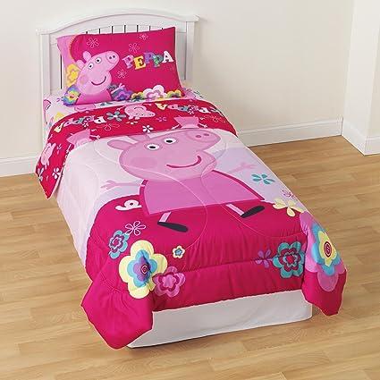 Entertainment One Peppa Pig Tweet Tweet Oink Microfiber Comforter Twin