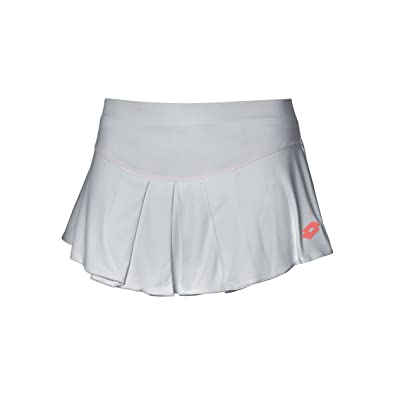 Lotto Nixia II W - Falda para Mujer, Color Gris, Talla L: Amazon ...