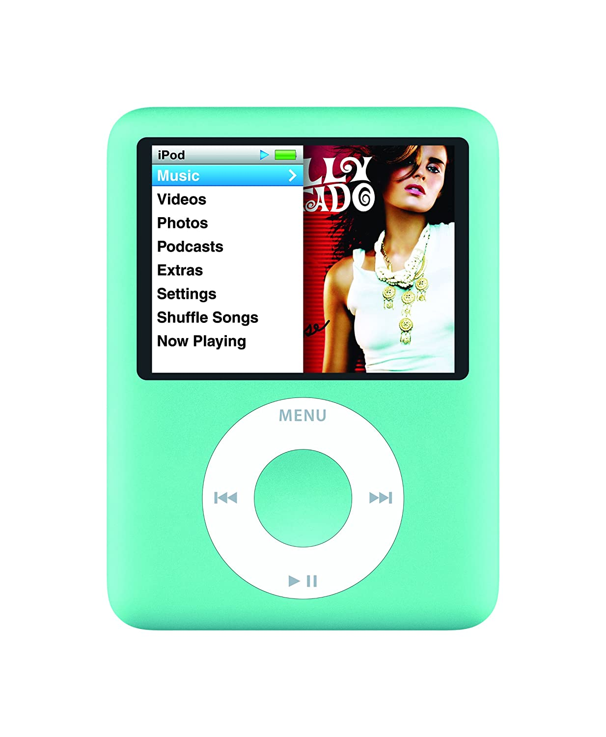 Amazon.com: Apple iPod nano 8 GB Blue (3rd Generation) (Discontinued by  Manufacturer): Home Audio & Theater