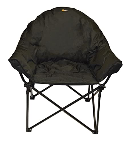 Faulkner 49570 Big Dog Bucket Chair, Black