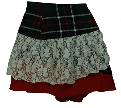 Scottish Designer Tartan Kilt Mini Skirt ( Goth Steampunk Psytrance Tribal )