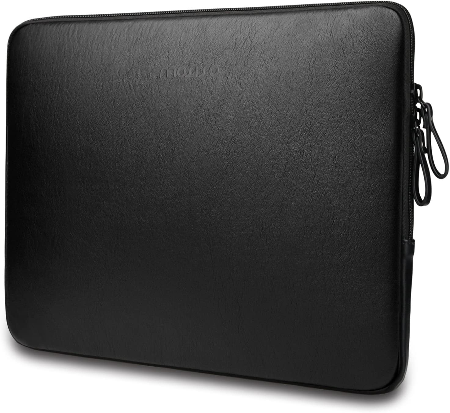 Space Gray PU Leather Super Padded Waterproof Protective Cover Case MOSISO Laptop Sleeve Bag Compatible with 13-13.3 Inch MacBook Pro Retina//MacBook Air//Surface Laptop 2 2018 2017//Surface Book
