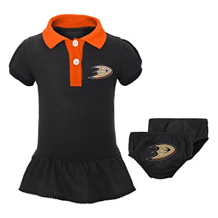 Outerstuff NHL Anaheim Ducks Newborn   Infant Little Prep Polo   Diaper  Cover Set 5c8fa90b1