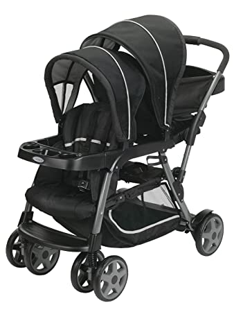 Silla de paseo color gris//negro Graco Stadium Duo Click Connect