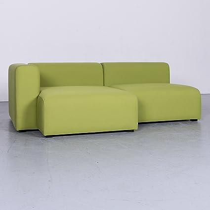 Hay Mags Designer Stoff Sofa Grün Ecksofa #6323
