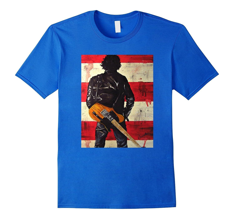 Bruces Springsteen Singer T-Shirt-BN