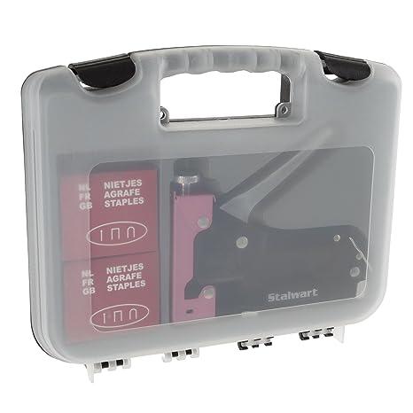 Amazon Com Light Duty Staple Gun Kit Stapler For Upholstery