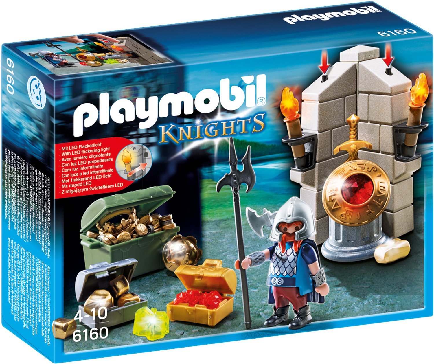 Playmobil Knights - Playmobil Ritterburg Zubehör - Playmobl Ritter Figuren