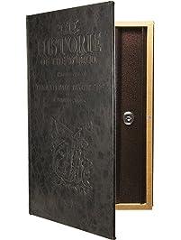 Barska CB11992 Large Antique Book Safe with Key Lock