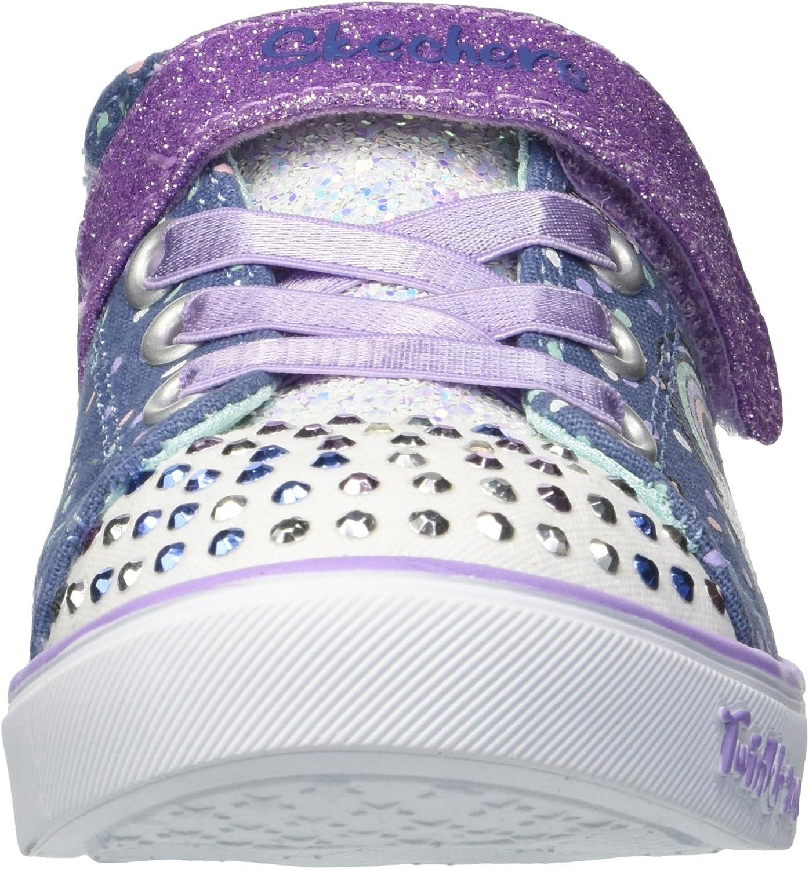 Skechers Unisex-Child Sparkle Lite-Unicorn Craze Sneaker: Shoes