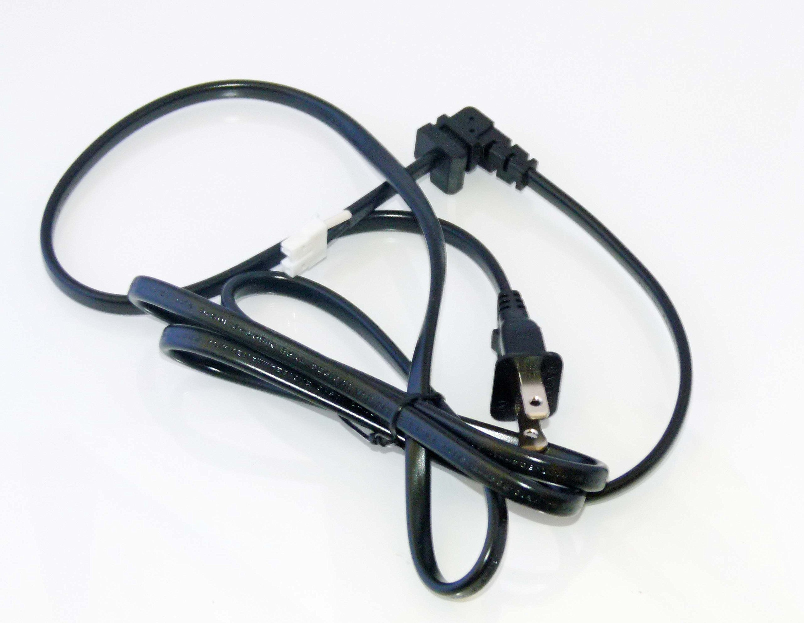 OEM Sony Power Cord USA Only Originally Shipped With KD55X720E, KD-55X720E, XBR65X750D, XBR-65X750D, KD55X727E, KD-55X727E by Sony (Image #1)