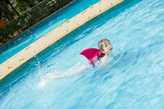 KEKE Anillo de Natación para Niños con Diseño de Tiburón y Flotador de Animales, Ideal para Niños y Niñas, Rosa: Amazon.es: Deportes y aire libre