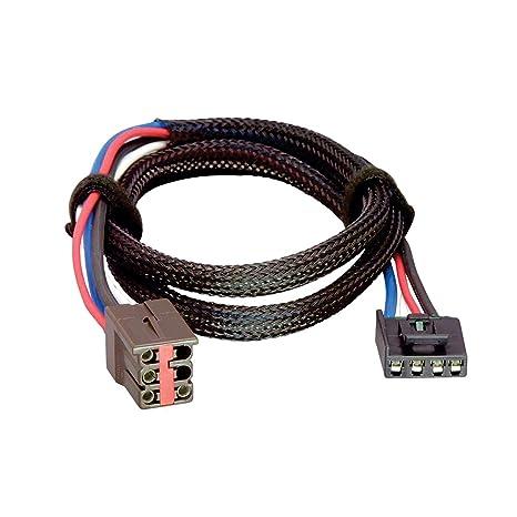 amazon com tekonsha 3035 p brake control wiring adapter for  tekonsha 3040 p trailer brake control