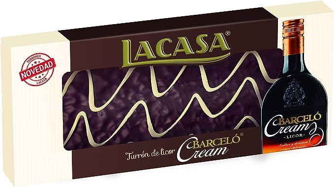 Lacasa Turrón Barceló Cream - 4 Paquetes de 230 gr - Total ...