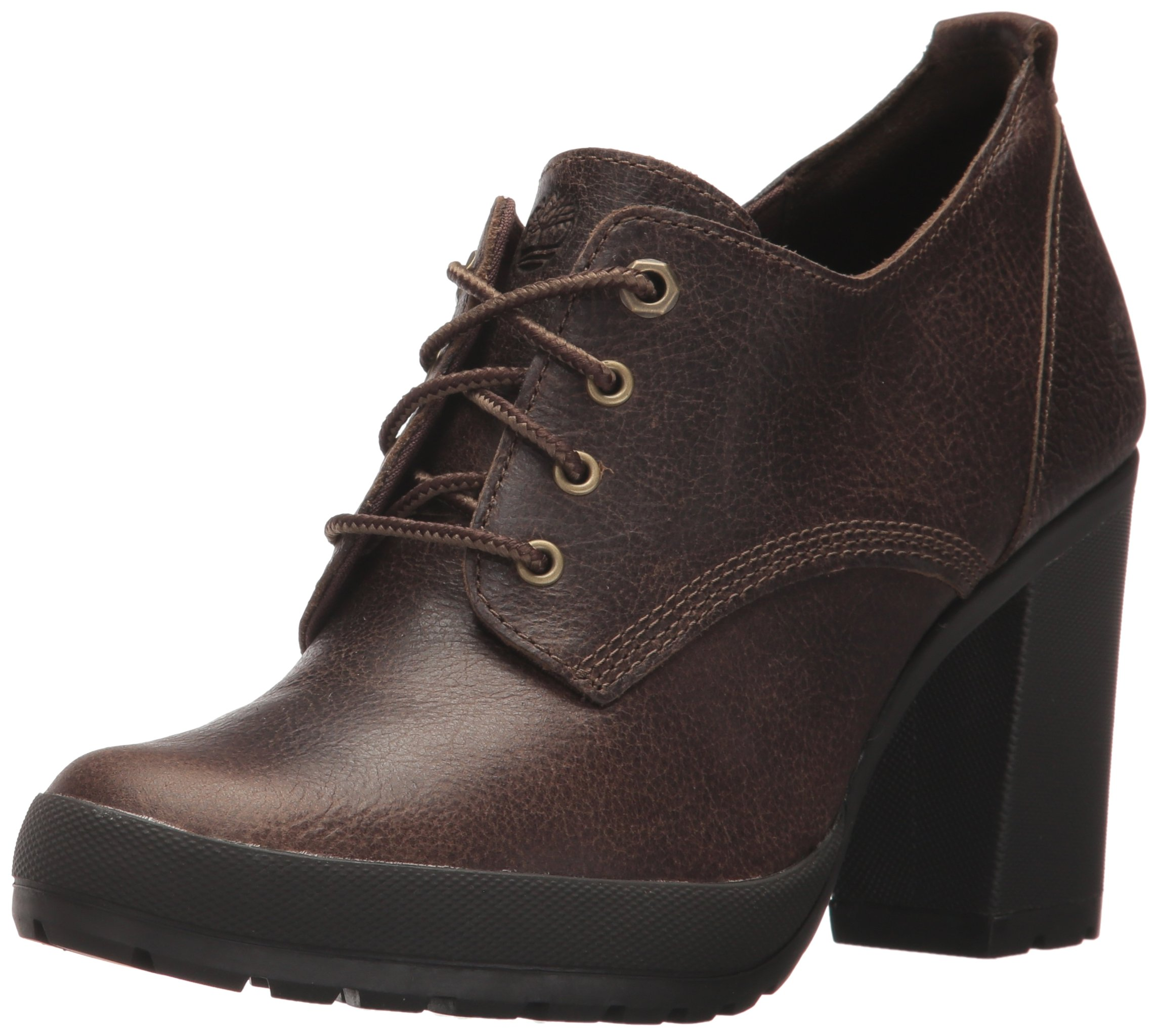 Timberland Women's Camdale Oxford,Dark Brown,10 M US