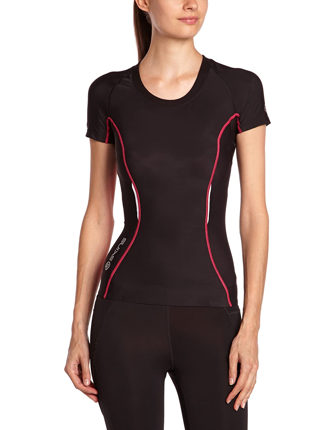 Skins A200 Women's Short Sleeve Compression Top Skins North America B6106-3004
